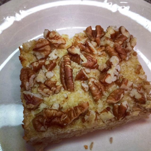 Coconut Pecan Breakfast Bars | JennFire.com